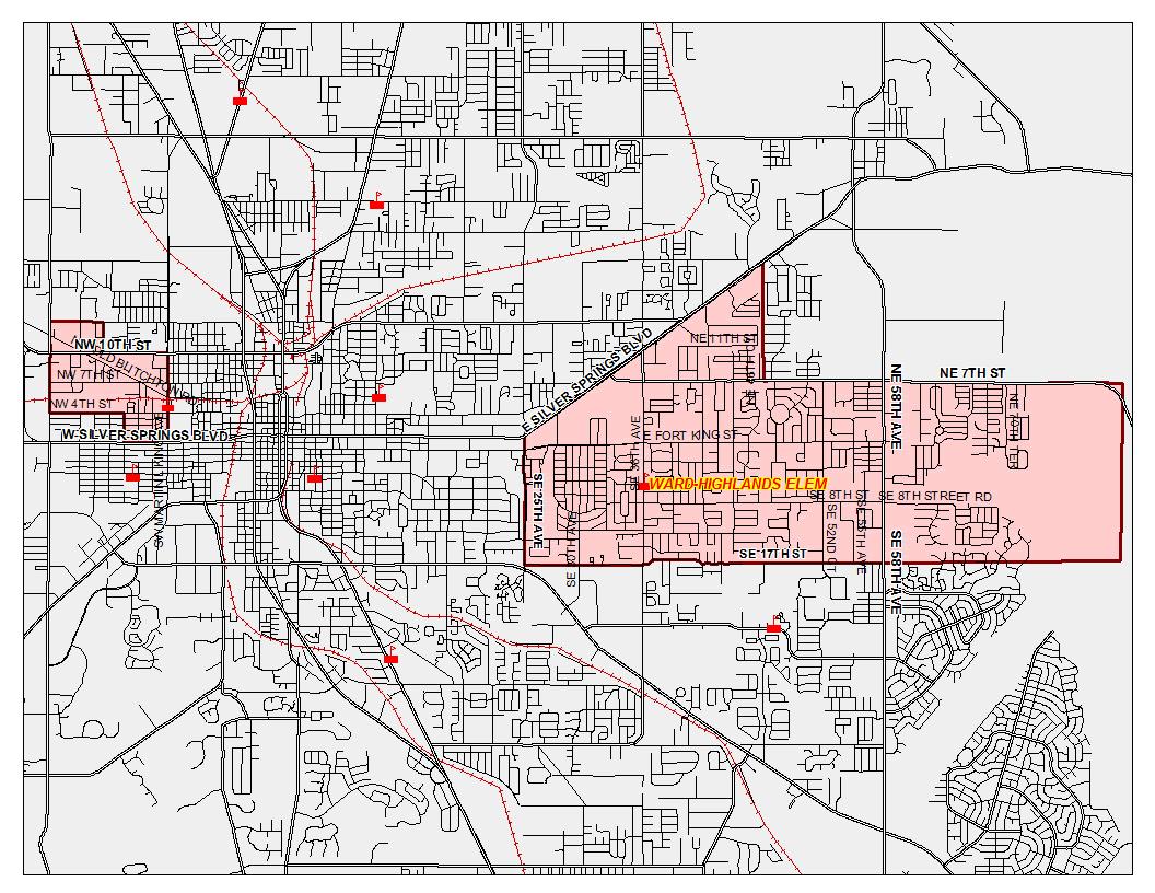 Zoning Boundary Map / Home - Ward-Highlands Elementary School